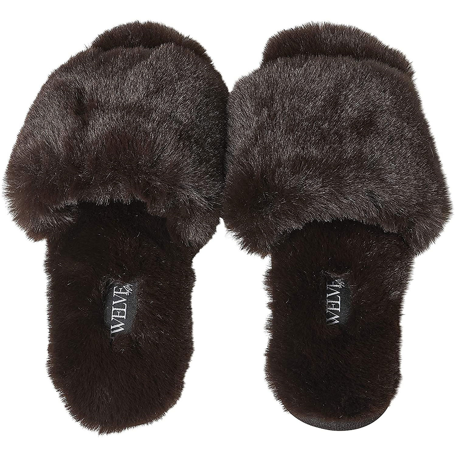 twelve am co so good fluffy slippers