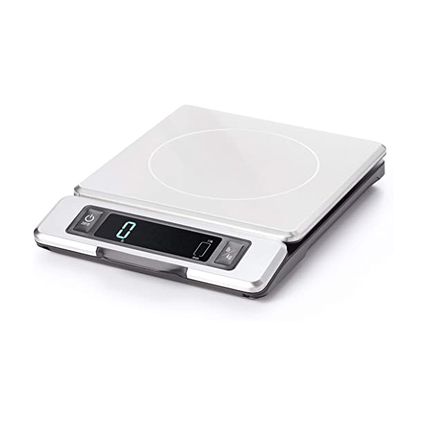 Oxo Good Grips 11 lb. Stainless Steel Food Scale With Pull Out Display