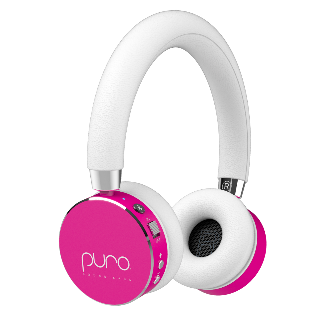 Puro Sound Labs BT2200s Bluetooth Headphones With Built-In Microphone