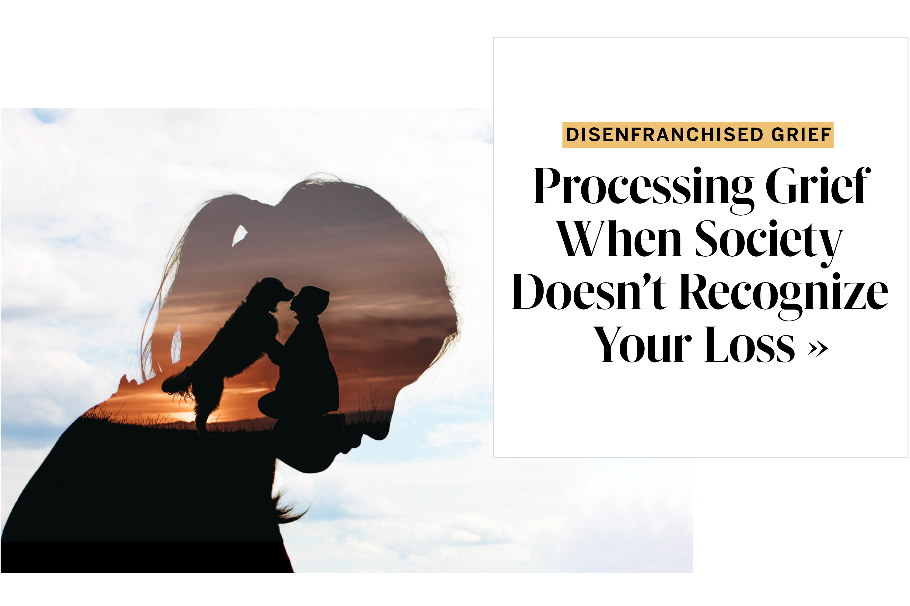 Disenfranchised Grief Might Be the Hardest Kind to Process—Here's What It Is and Why, According to Experts