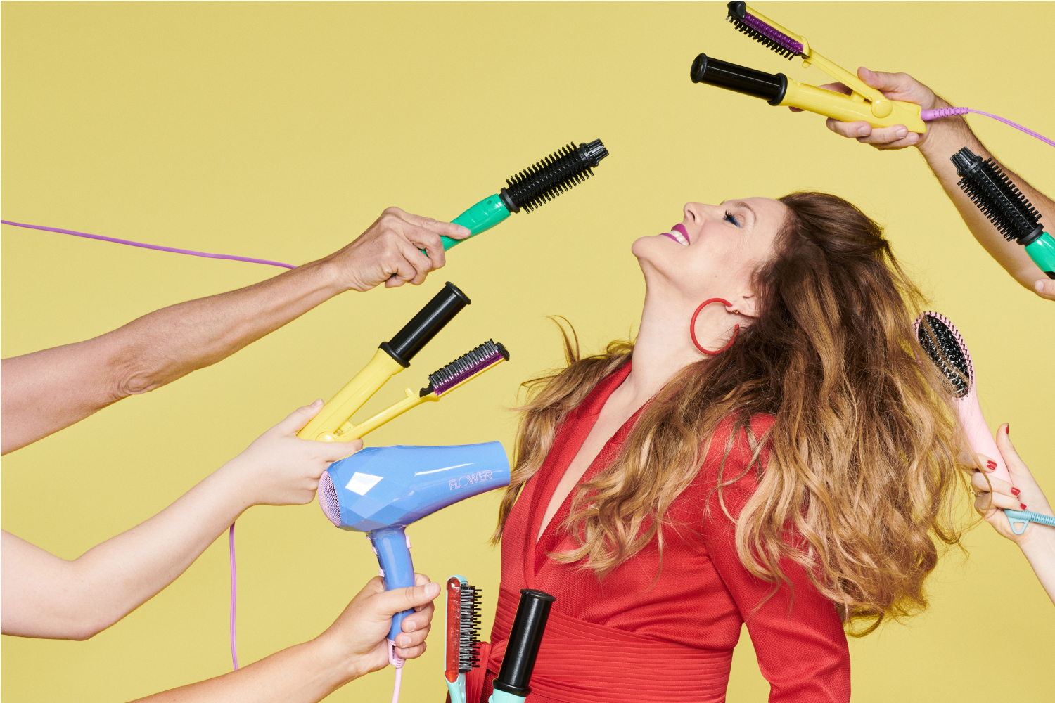 Drew Barrymore's Hair Tool