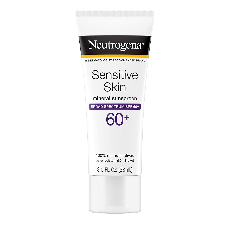 Neutrogena Sensitive Skin Mineral Sunscreen SPF 60+