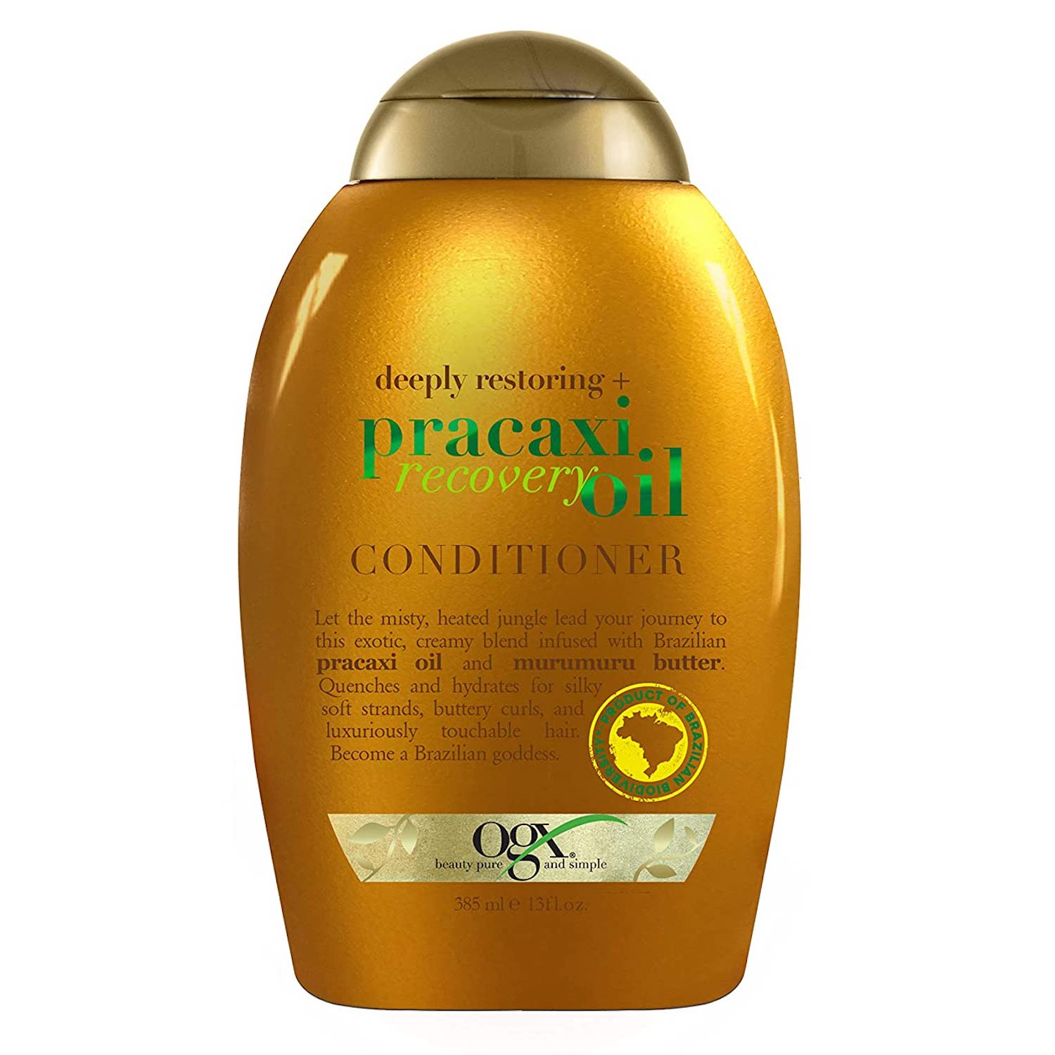 OGX Deeply Restoring + Pracaxi Recovery Oil AntiFrizz