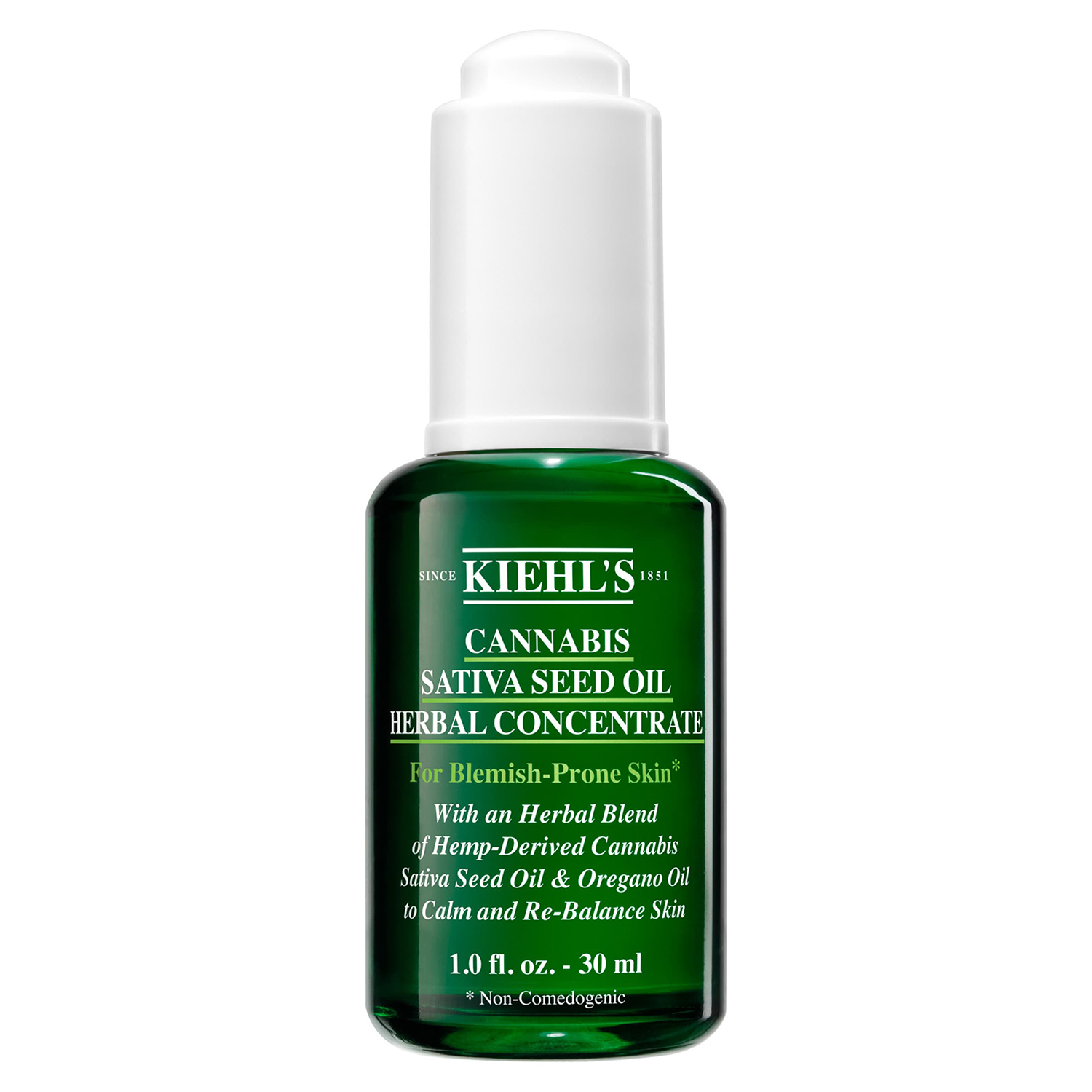 Cannabis Sativa Seed Oil Herbal Concentrate Hemp-Derived KIEHL'S SINCE 1851