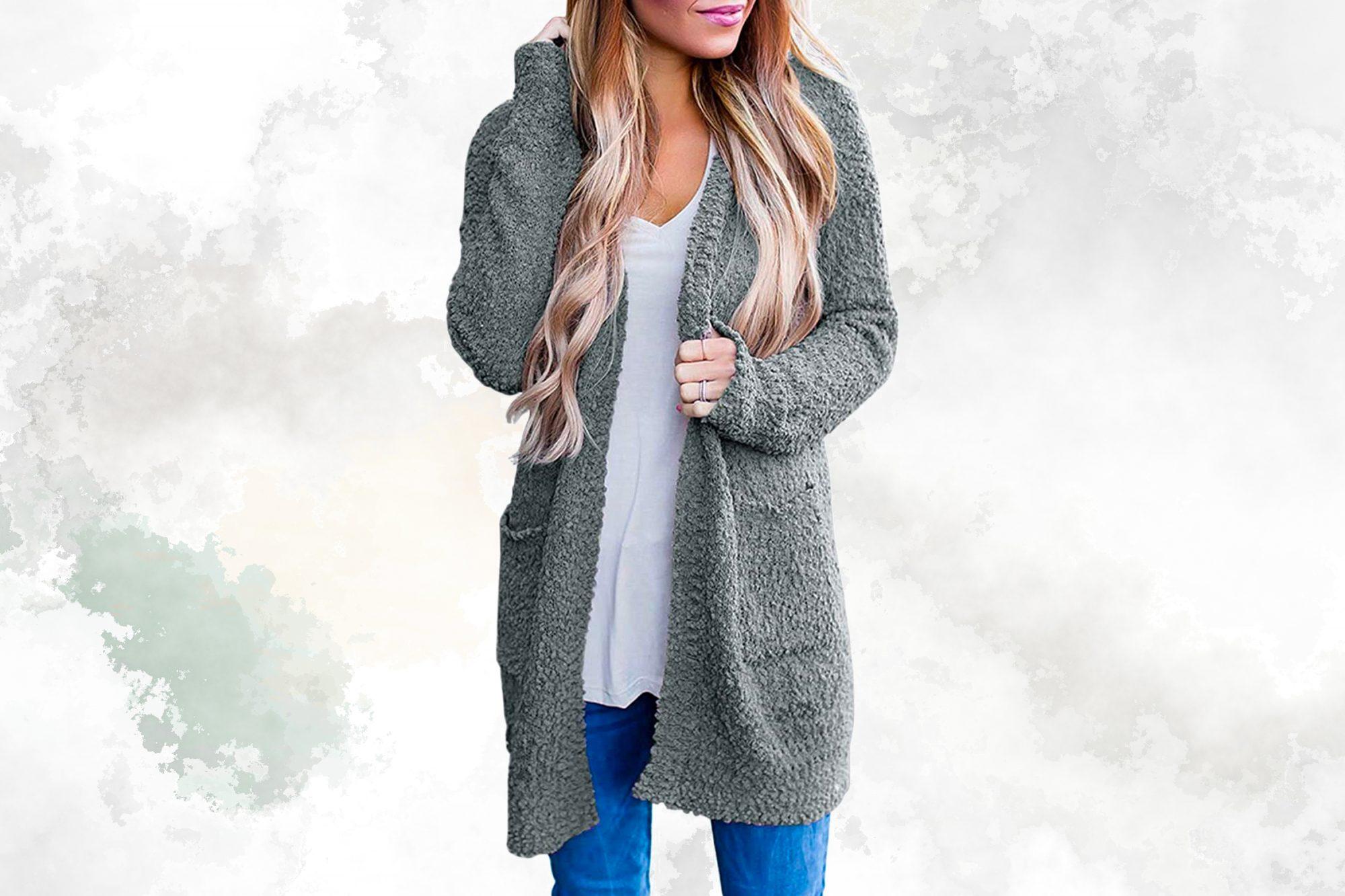 sweater weather cozy cardigan