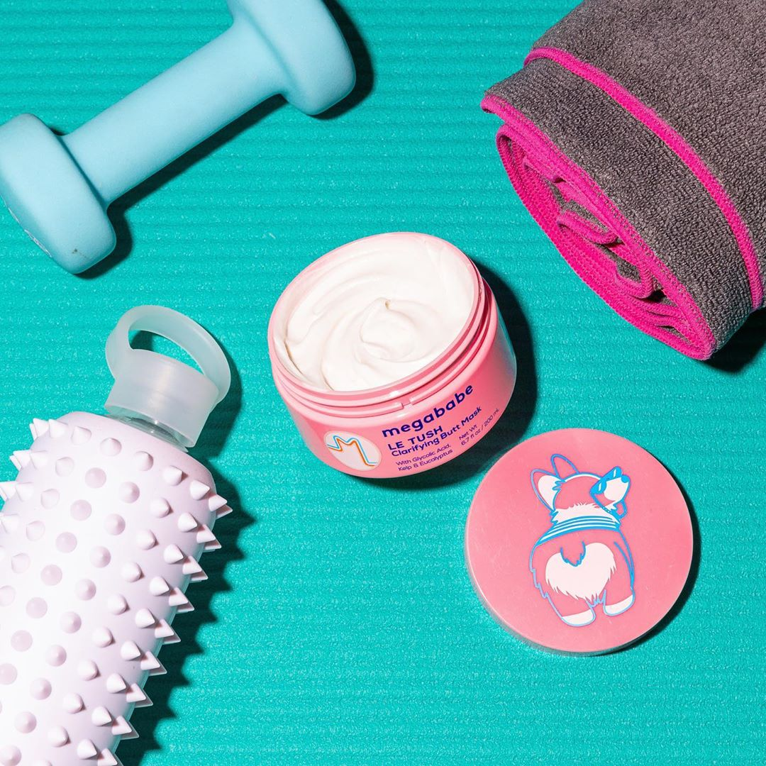 ECOMM: Our Beauty Assistant Got Me Hooked on This Clarifying Butt Mask