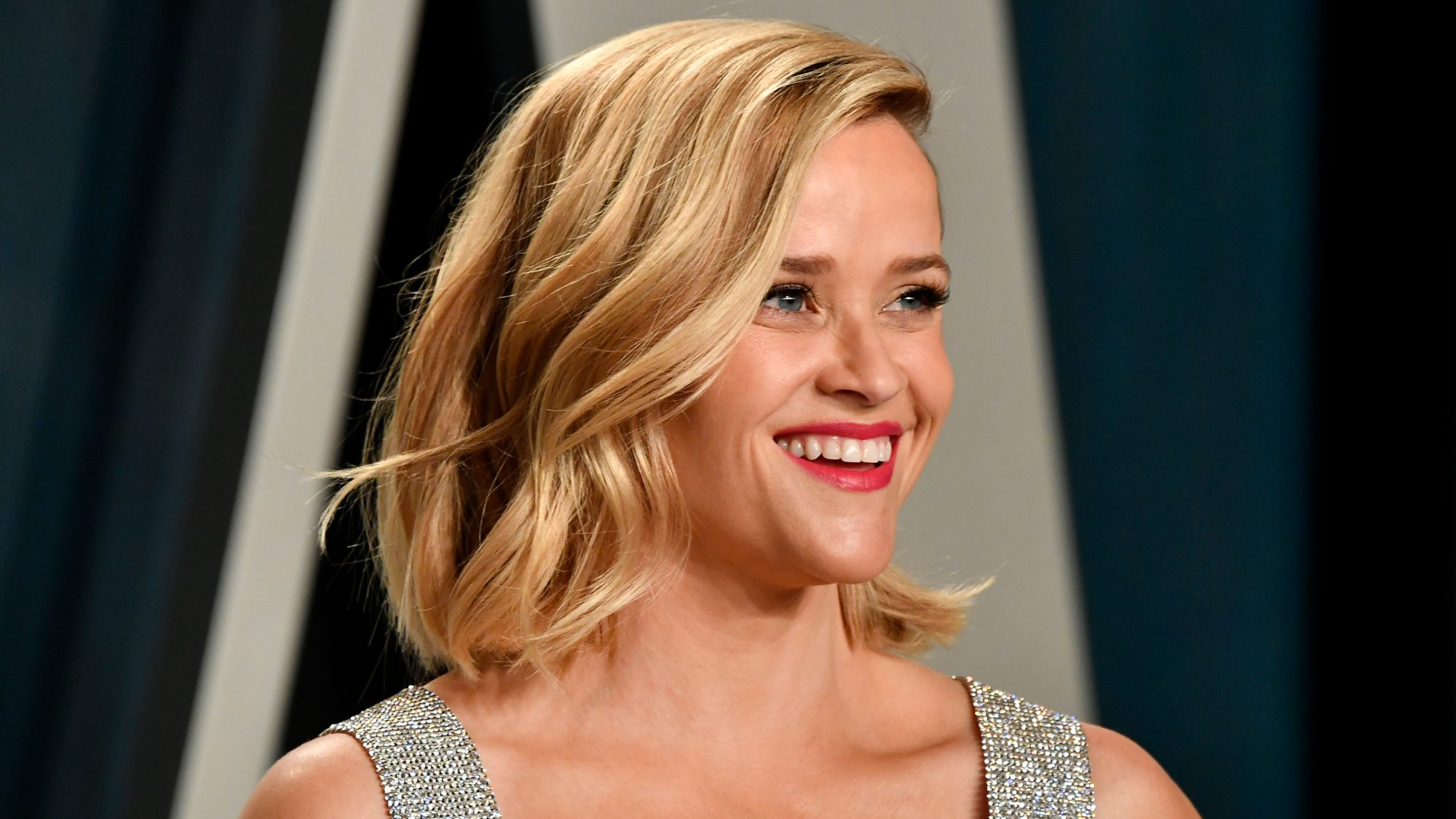Reese Witherspoon Mom Wear Same Red Lip