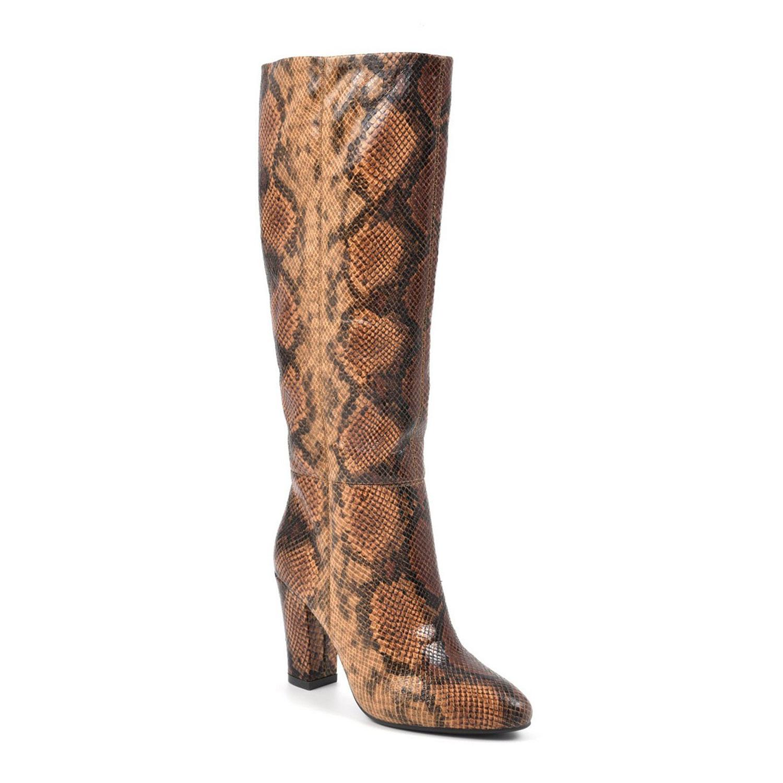 cosmic regular tall shaft boots, brown