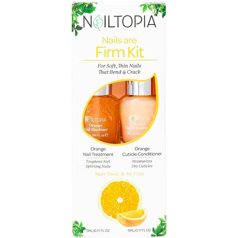 Nailtopia Nails Are Firm Kit:Orange