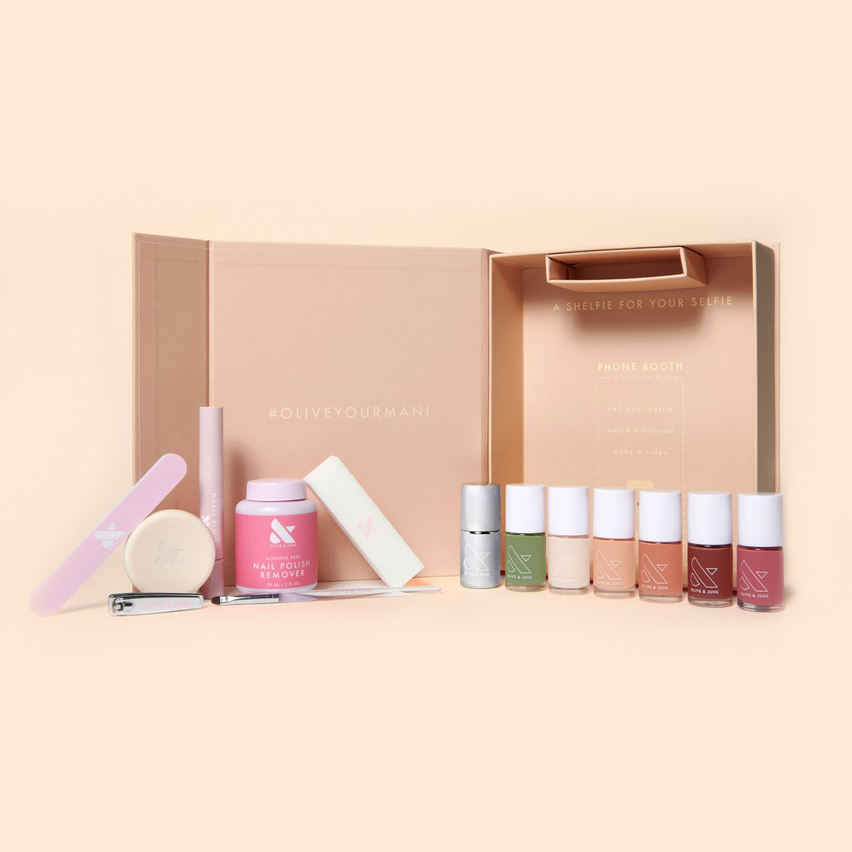 Olive + June The Nailfie Ready Box