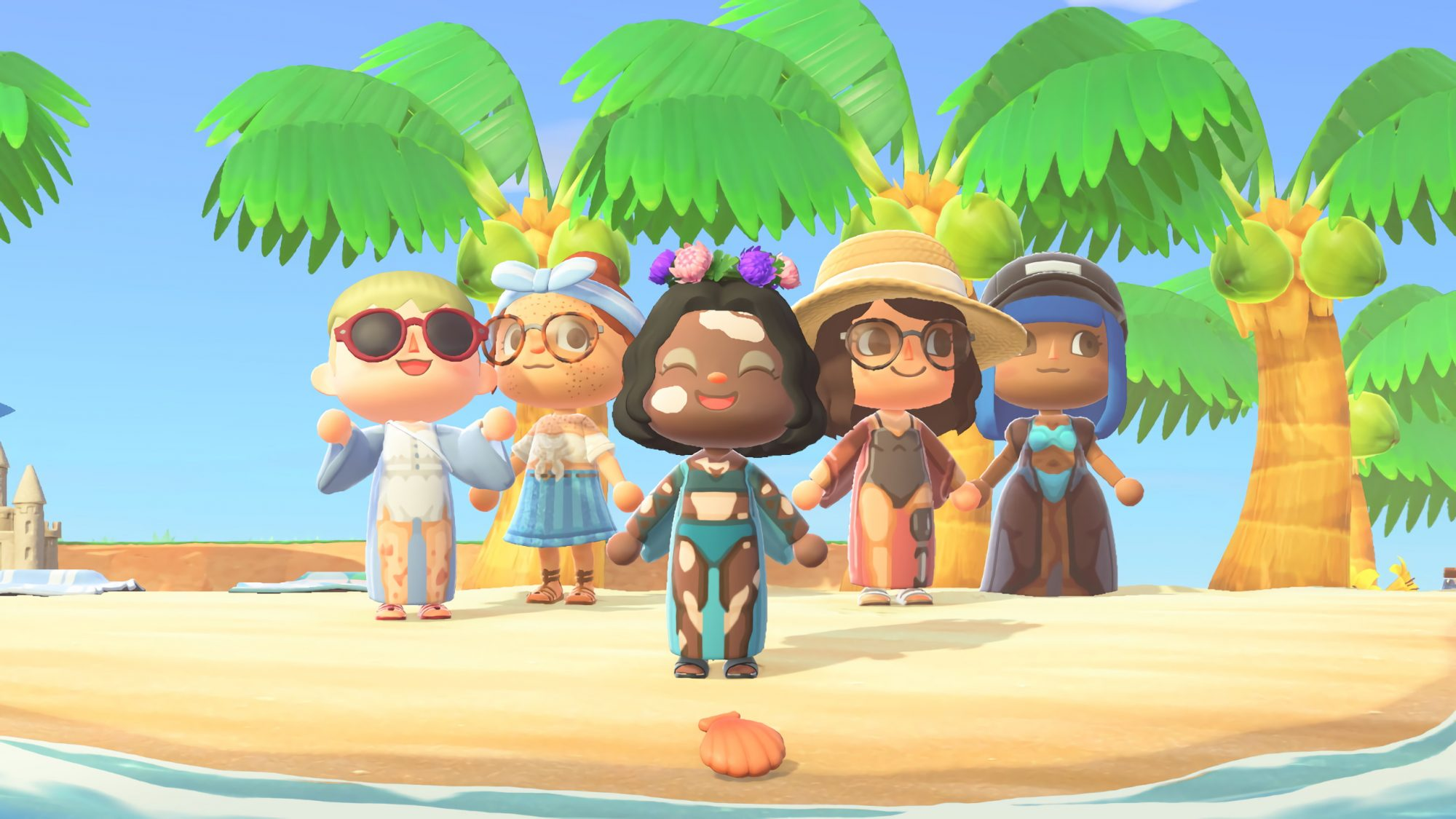 animal-crossing: new skin options from Gillette Venus