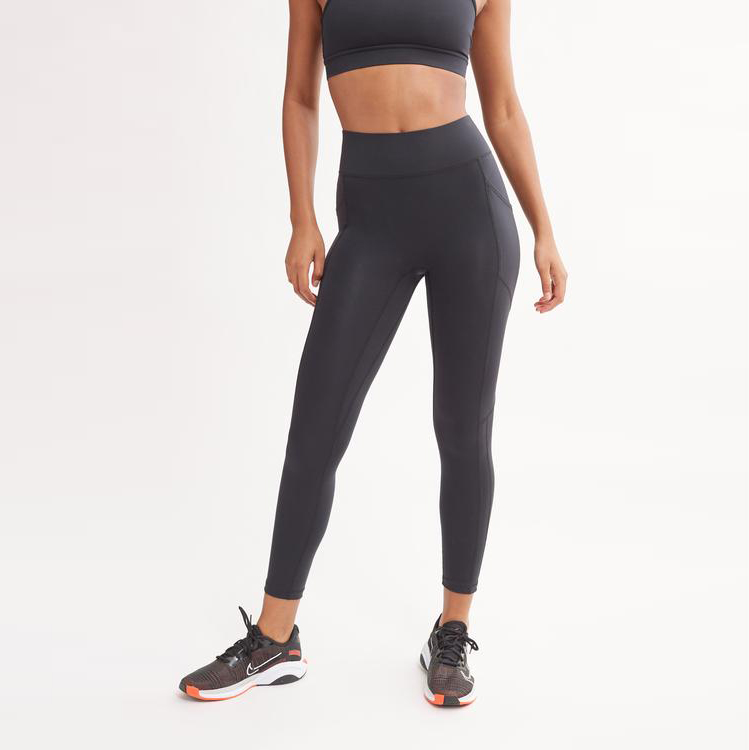 bandier all allcess high waist center stage leggings with pockets