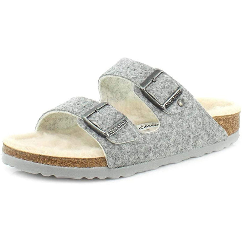 birkenstock unisex arizona happy lamb sandal