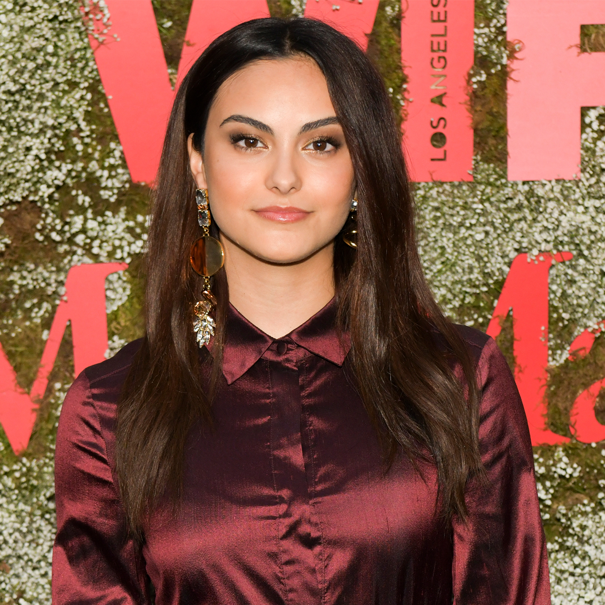 Camila Mendes attends the InStyle