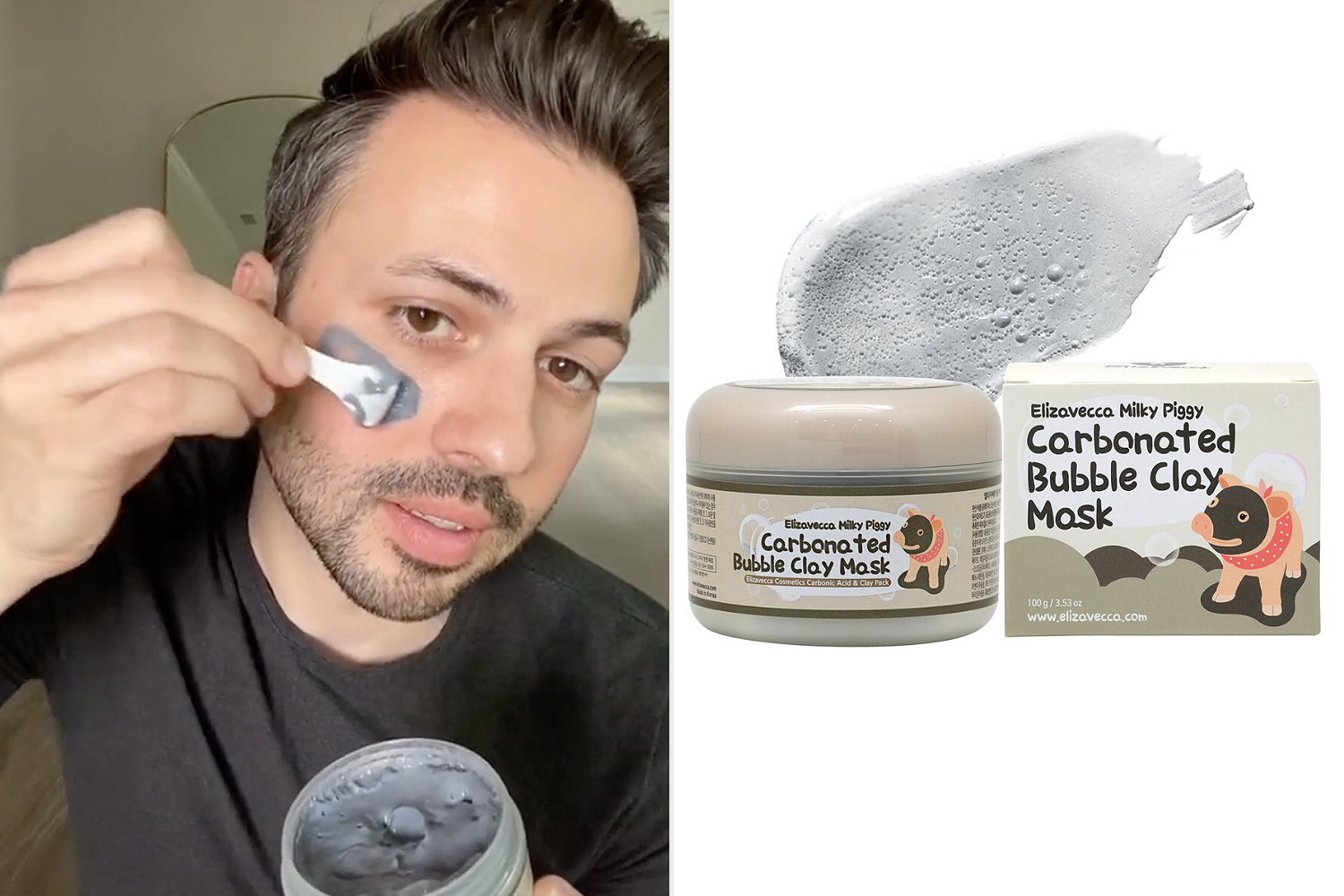 carbonated clay mask the beauty spy