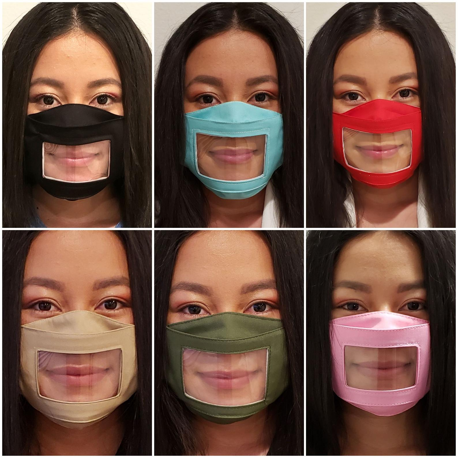 clear mask colors