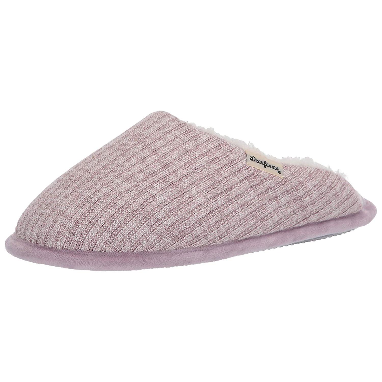 dearfoams women's scuff slipper
