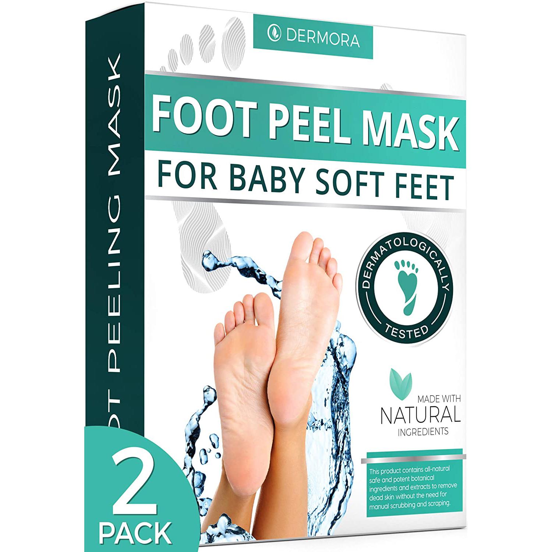 Dermora Foot Peel Mask