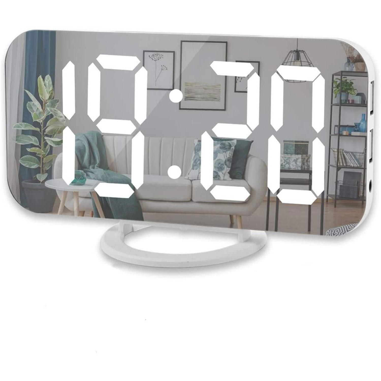 digital alarm clock large led