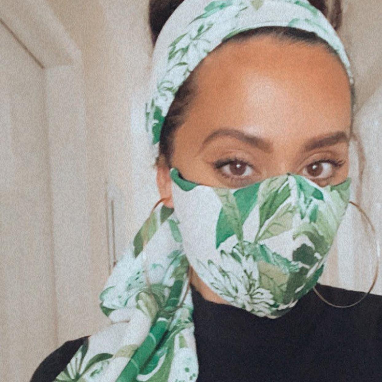 Face Mask and Headband Set