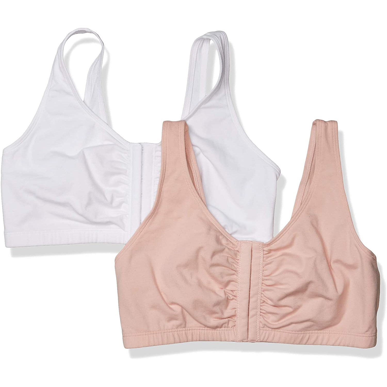 Fruit of the Loom Front Closure Cotton Bra