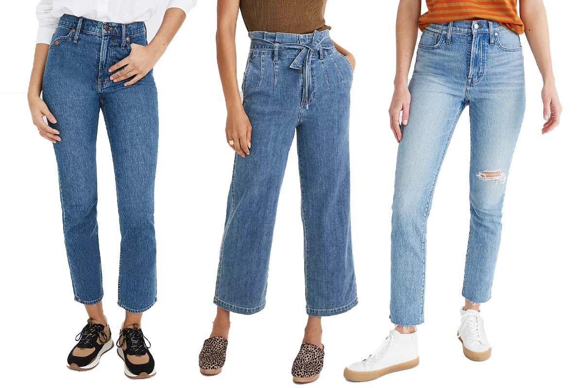 Madewell $75 Jeans sale