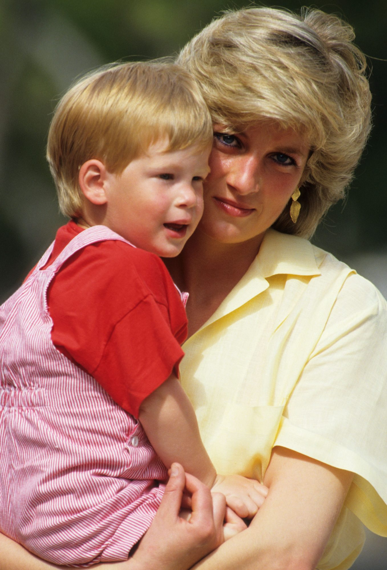 Princess Di and Harry