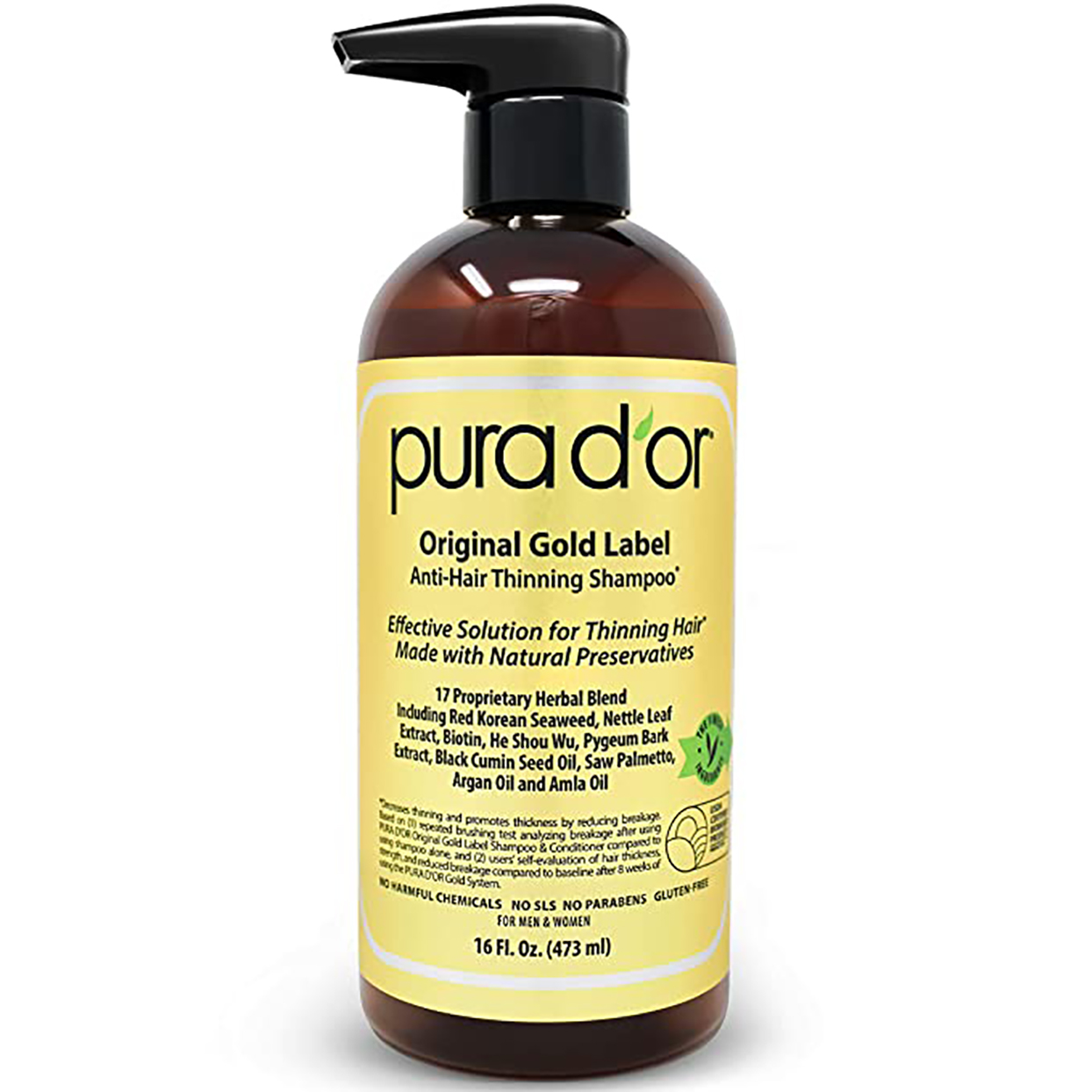 pur d or anti-thinning shampoo embed