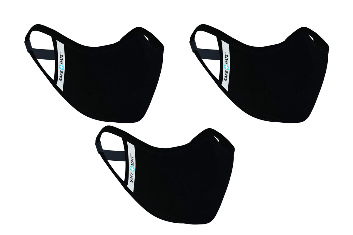 Washable & Reusable Face Mask Black