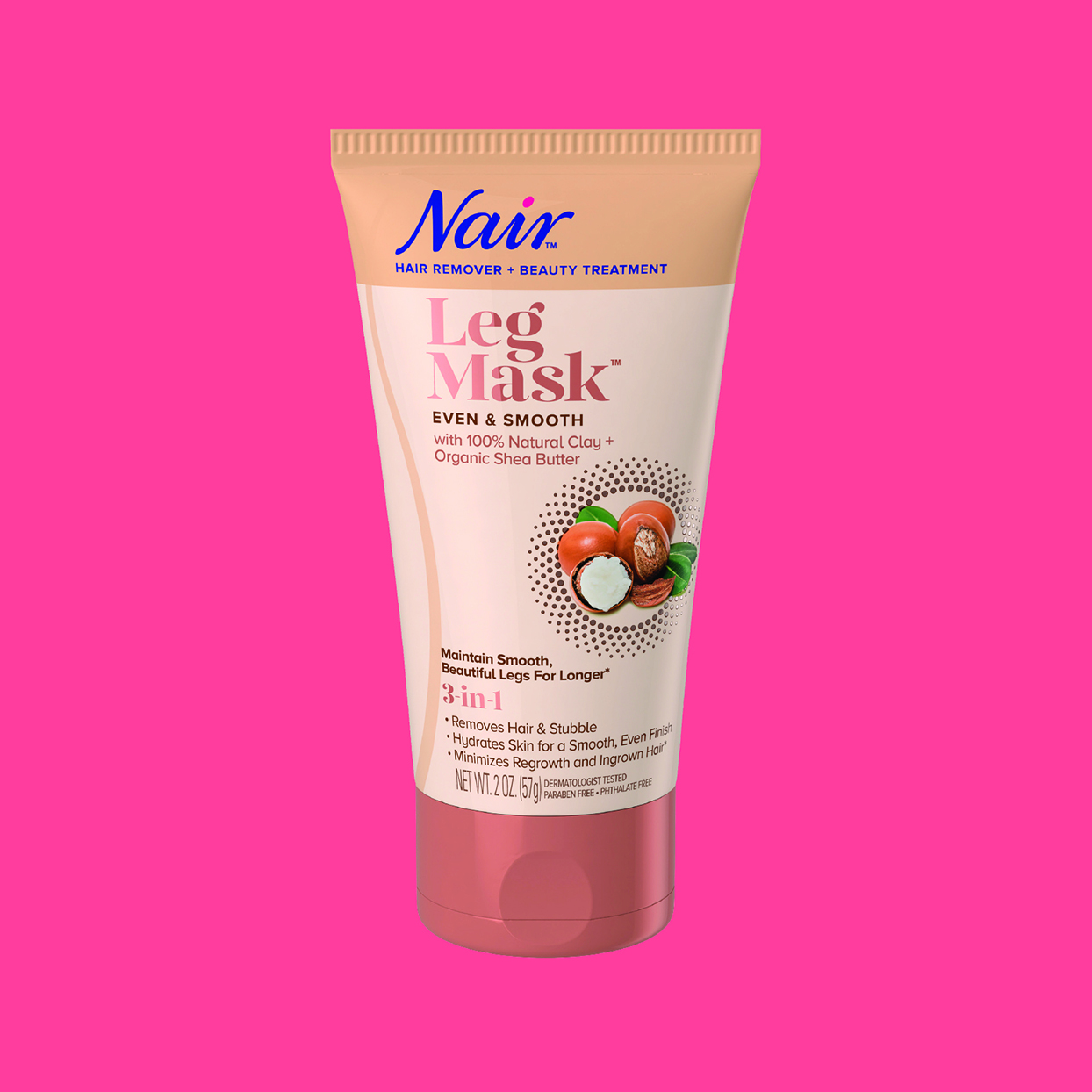 Nair Leg Mask In Even & Smooth with Raw Shea Butter