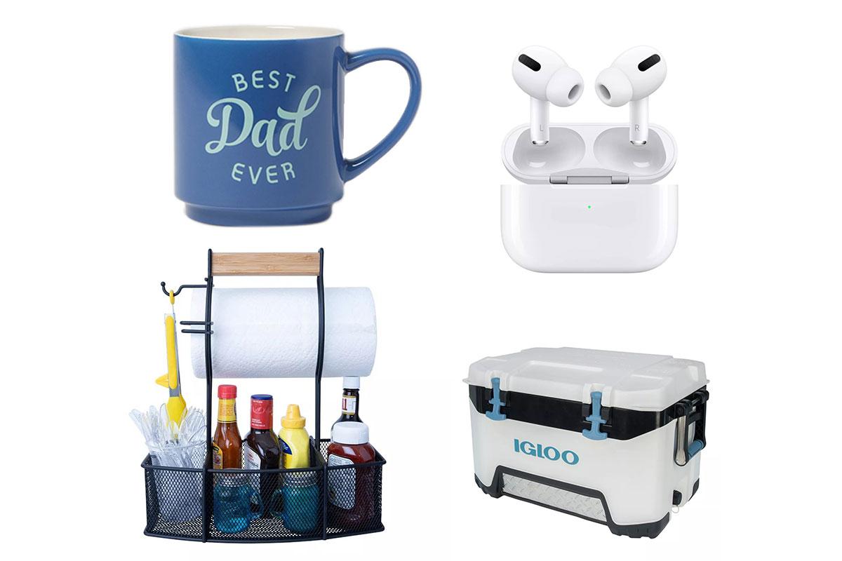 igloo cooler, fathers day mug, airpods