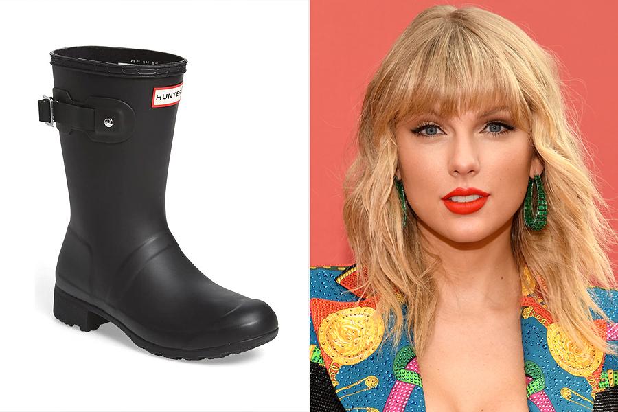 taylor swift; rain boots