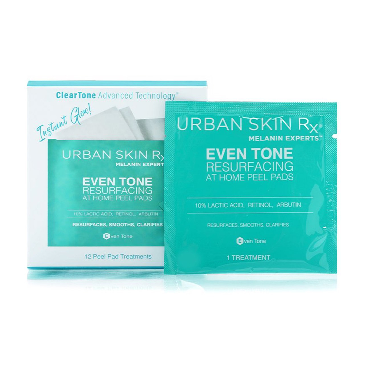 Urban Skin Rx Even Tone Resurfacing At Home Peel Pads