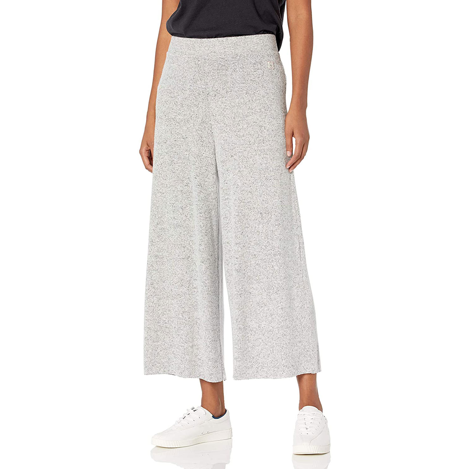 vintage america blues women's misses strength high-rise wide knit pant