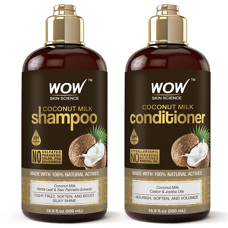WOW Coconut Milk Shampoo and Conditioner Set
