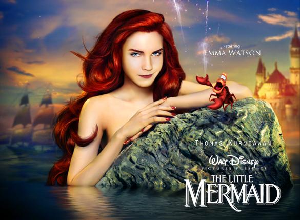 poster mermaid small
