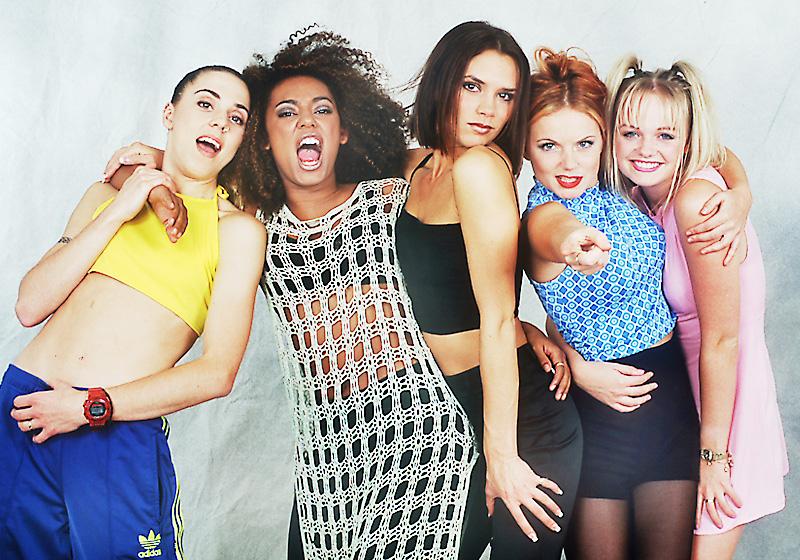 Gold-Platte-Spice-Girls