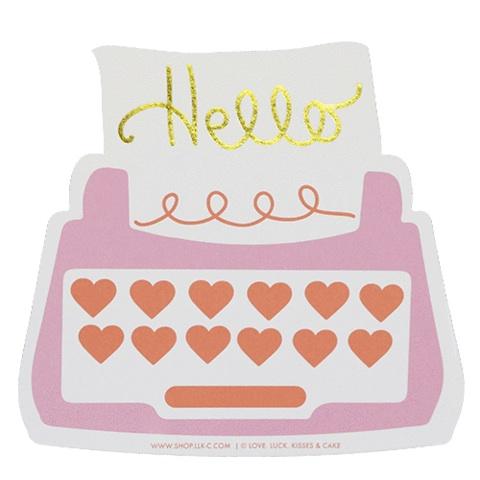 SHOP.LLK-C.com_Hello_Typewriter_Pink_Card_1_large copy