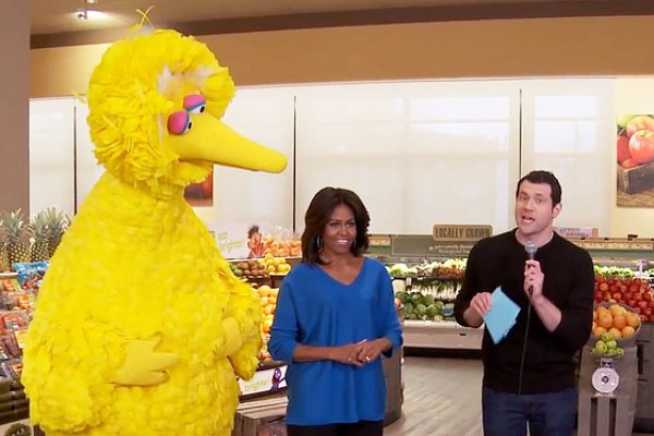 michelle-obama-appears-on-billy-on-the-street-to-promote-eat-brighter