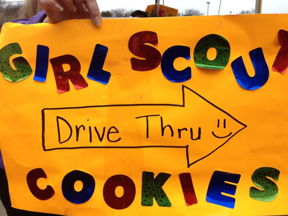 Picture of Girl Scout Drive-Thru Sign