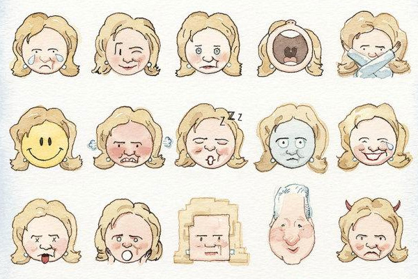 hillary-clinton-emoji-new-yorker