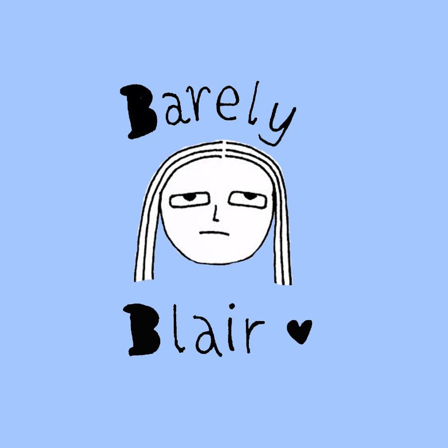 BarelyBlairLogo