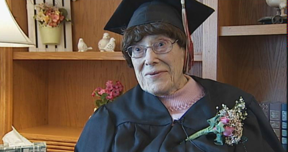 103-year-old graduate