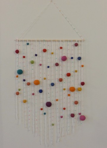 Pompom Wall Hanging Image 5:Featured Image