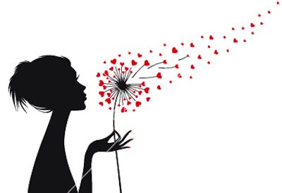 woman-holding-dandelion-with-red-hearts-vector-1834826