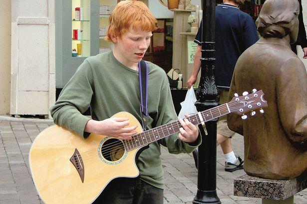 Ed-Busking-at-13-yrs-old-John-Sheeran