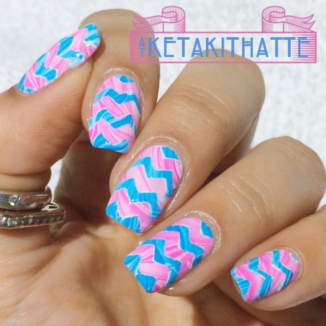 Marbled Chevrons