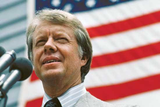 Jimmy Carter in 1976