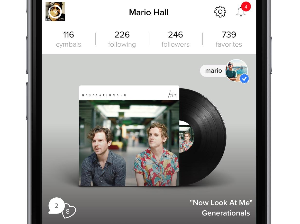 Cymbal app