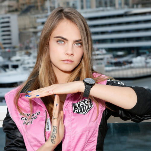 Picture of Cara Delevingne Wearing Watch